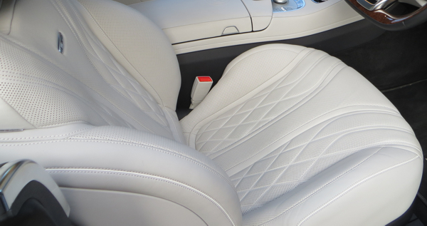 Leather seat treatments and restoration